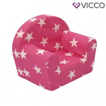 Vicco Kindersessel Kindersofa Minisofa Kindermöbel Sessel Sofa Schaumstoff Sterne