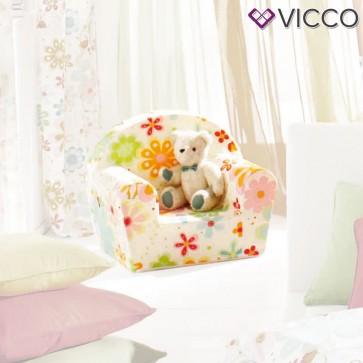Vicco Kindersessel Kindersofa Minisofa Kindermöbel Sessel Sofa Schaumstoff Blume