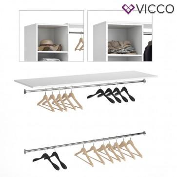Vicco Oberplatte VISIT inkl. Kleiderstangen