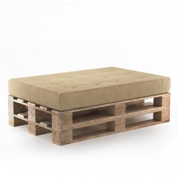 Palettenkissen Set Sitzkissen+ Paletten Beige