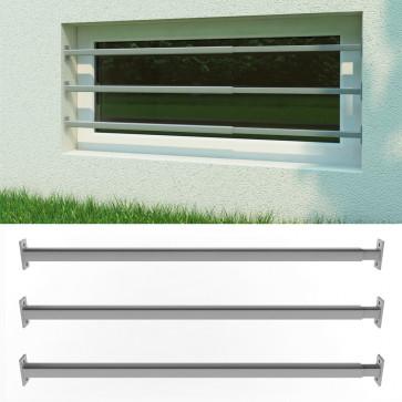 Oskar-Store Fenstergitter 3er Set Einbruchschutz