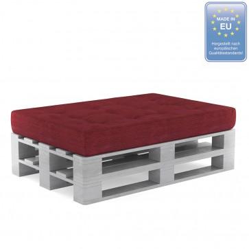 Palettenkissen Set Sitzkissen+ Paletten Rot