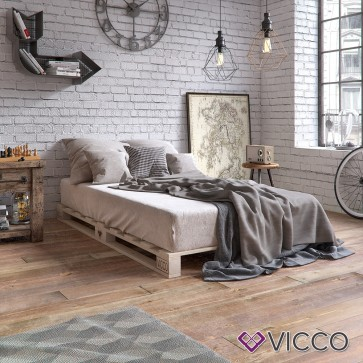 VICCO Palettenbett 160x200