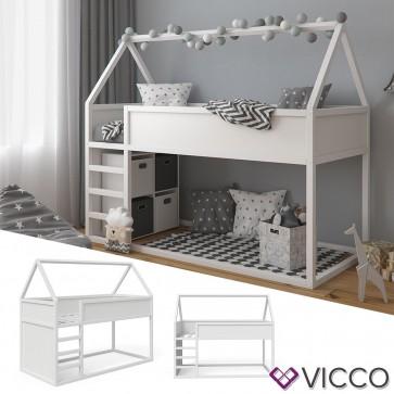 Vicco Hausbett Pinocchio in weiß