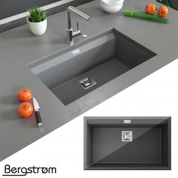 Bergström Granit Spüle Einbauspüle 740x450mm