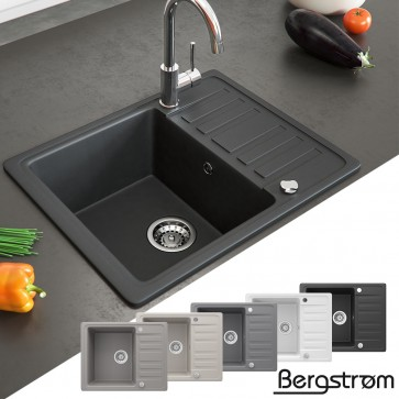Bergstroem (575x460) Einbauspüle Granit Spüle Verbundverkstoff