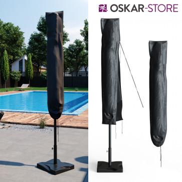 Oskar Schutzhülle für Sonnenschirm 270cm anthrazit