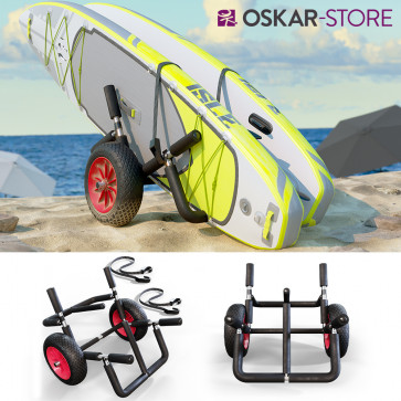 Oskar Transportwagen Doppel für 2x SUP Stand Up Paddle
