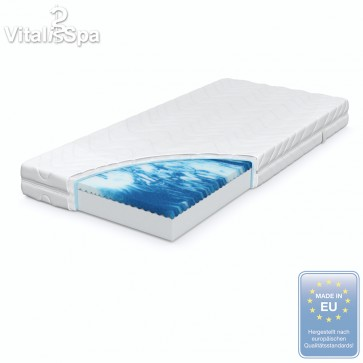 VitaliSpa® Komfort Gelschaummatratze 90-140x200cm