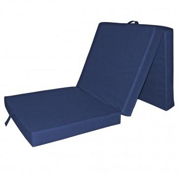 VitaliSpa® Faltmatratze Gästebett Blau