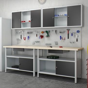2er Set Werkstatteinrichtung