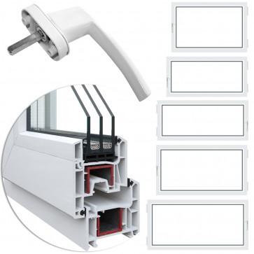 Kellerfenster 3-fach Auswahl