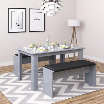 Tischgruppe Sentio Beton