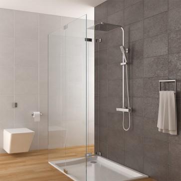 Duschsystem inkl. Thermostat + Duschkopf 30x30