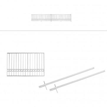 Gartenzaunfeld verzinkt 192x112cm