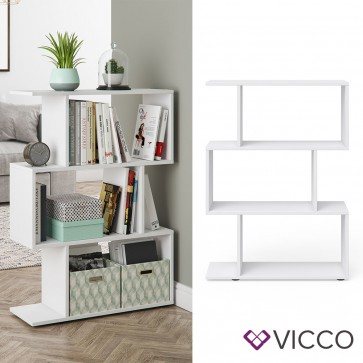 VICCO Raumteiler LEVIO klein Weiß