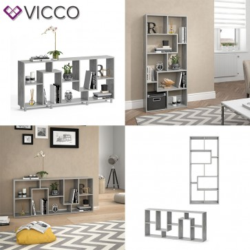 VICCO Raumteiler NOA Beton optik
