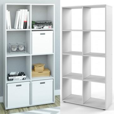 Raumteiler SCUTUM 140 x 70 cm Weiß