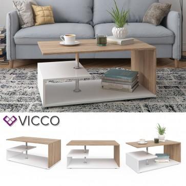 VICCO Couchtisch GUILLERMO Weiß Sonoma
