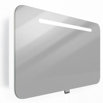 VICCO LED Spiegelschrank FALSTERBO 80 cm Weiß