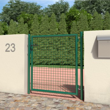 Gartentür Hoftür Hoftor 100x120 cm grün