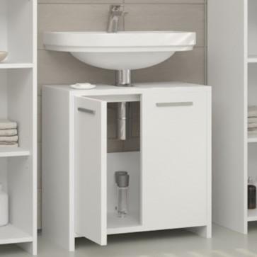 VICCO Waschbeckenunterschrank KIKO 60 cm Weiß