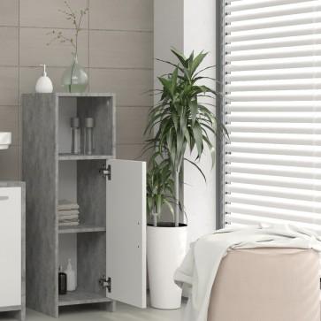 VICCO Midischrank KIKO 95 x 30 cm Grau Beton