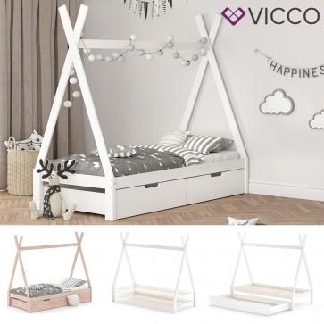 VICCO Hausbett Tipi 90x200