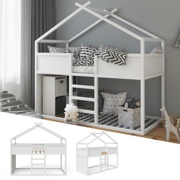VITALISPA Hausbett MERLIN in weiß