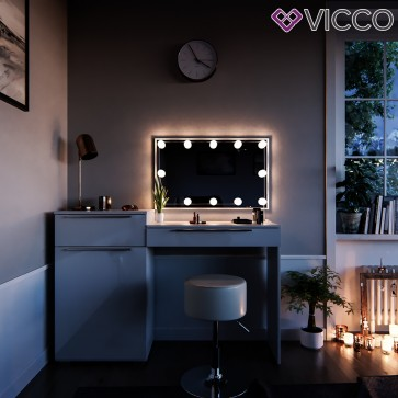 VICCO Schminktisch LITTLE LILLI mit Hocker