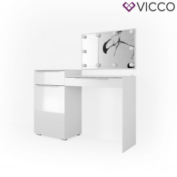 VICCO Schminktisch LITTLE LILLI mit LED-Beleuchtung