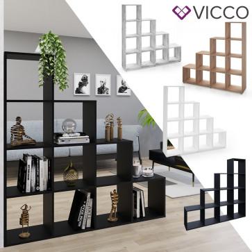 Vicco Treppenregal mit 6 Fächern
