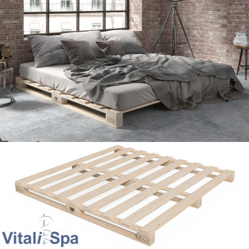 VitaliSpa Palettenbett 160x200