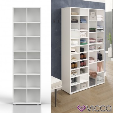 VICCO Kleiderregal PARIS Weiß