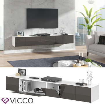 VICCO Sideboard CUMULUS 2er Set-Anthrazit