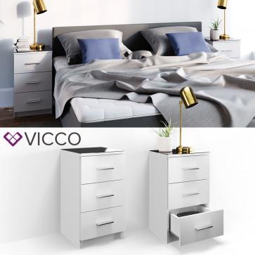 VICCO Nachtkommode für Boxspringbett