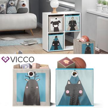 VICCO Faltbox Elch Katze