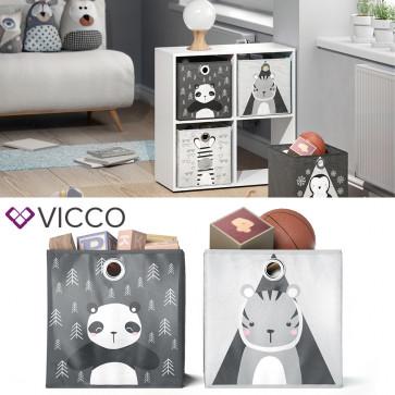 VICCO Faltbox Panda Zebra