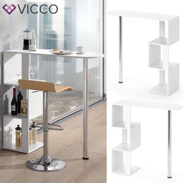 VICCO Bartisch VINCENT Weiß
