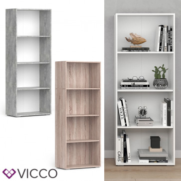 VICCO Bücherregal EASY L