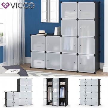 VICCO Kleiderschrank modular 110 x 145 x 47 cm