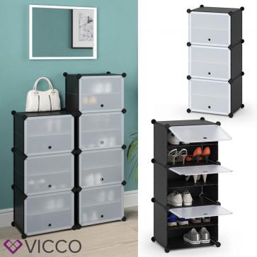 VICCO Schuhschrank modular 3 Fächer