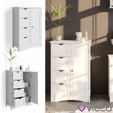 VICCO Sideboard Bianco