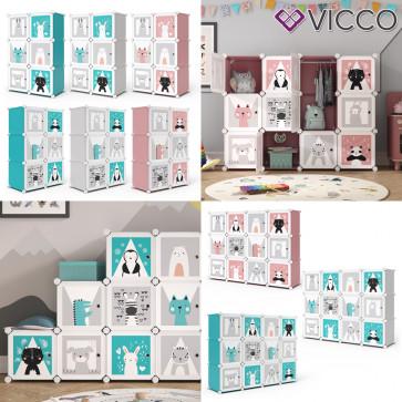 Vicco Kleiderschrank Andy Kinder modular