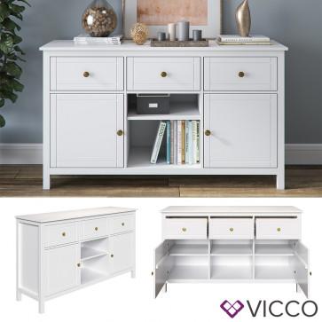 VICCO Sideboard HANNES Massivholz