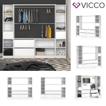 VICCO Kleiderschrank VISIT XXXL