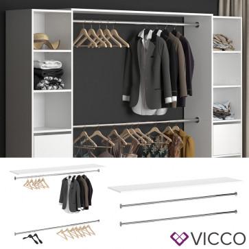 Vicco Oberplatte GUEST inkl. Kleiderstangen