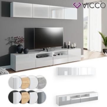 VICCO Wohnwand 6er Set COMPO Lowboard Sideboard Schrank Regal