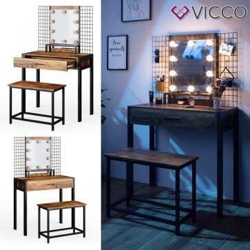 VICCO Design Schminktisch Fyrk