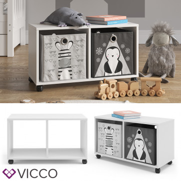 Vicco Rollcontainer für Faltboxen